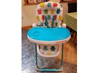 Cosatto Noodle Supa high chair - Monster Mash