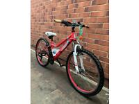 Apollo girls mountain bike 24inch wheels size BARGAIN