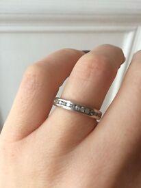 Beautiful white gold diamond engagement ring