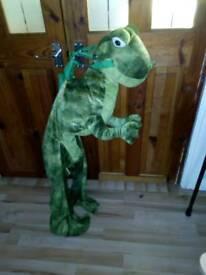 Dinosaur riding costume