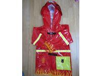 Kidorable Fireman Waterproof Rain Coat