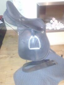 Thorowgood griffin saddle