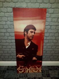 Scarface Canvas 120 cm x 50 cm