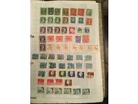 stamp collection of mixed GB and worldwide stamps in Files