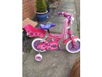 Pink 12inch bike