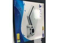 Brand New White PS4 slim- 500gb - black model also available - can be swapped for old gadgets