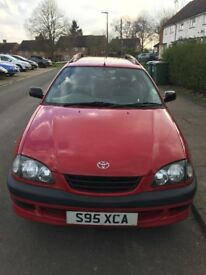 Toyota Avensis TD Estate in Excellent Condition.