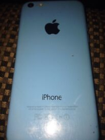 Iphone 5 blue