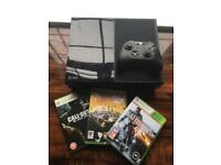 Xbox one 500Gb For Sale with 3 Games