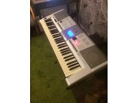 Yamaha PSR E403 Electronic Keyboard (with pedal, stand and headphones)