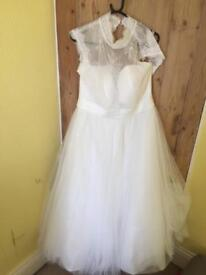 Wedding dress from Wed2B. Size 18