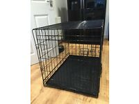 Large dog puppy crate