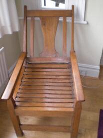 Teak Asian Chair from Conran