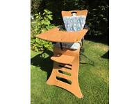 High chair - moulded plywood