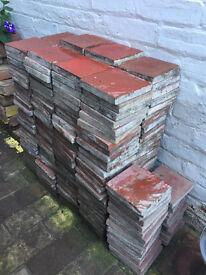 """325 x 6"""" Pamment Floor Tiles Reclaimed Salvage"""