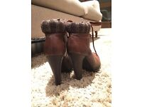 Chic Ankle Boots Heels
