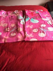 Curtain & single duvet