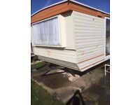 Static caravan for sale 6 birth 2 bedrooms , East Coast Cleethorpes Lincolnshire