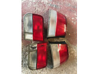 honda civic coupe rear lights ej8 ej6 em1 vti 96-00