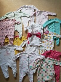 0-3 months baby girls clothes