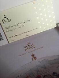 Windsor enclosure ticket for sold out Royal Ascot Saturday 24th June £70 Ono