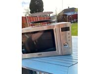 Stainless steal delonghi microwave