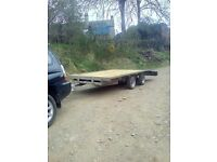 Indespension 14x6.6. Transporter trailer