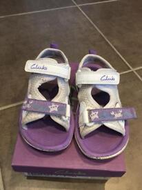 Clark's infant sandals