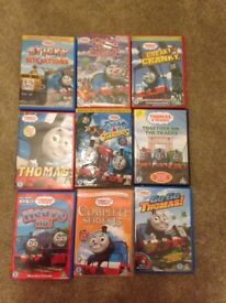 9x thomas the tank engine DVDs