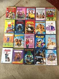 Children's dvd job lot many Disney 54 in total