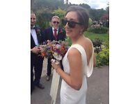 Ivory wedding dress 10/12