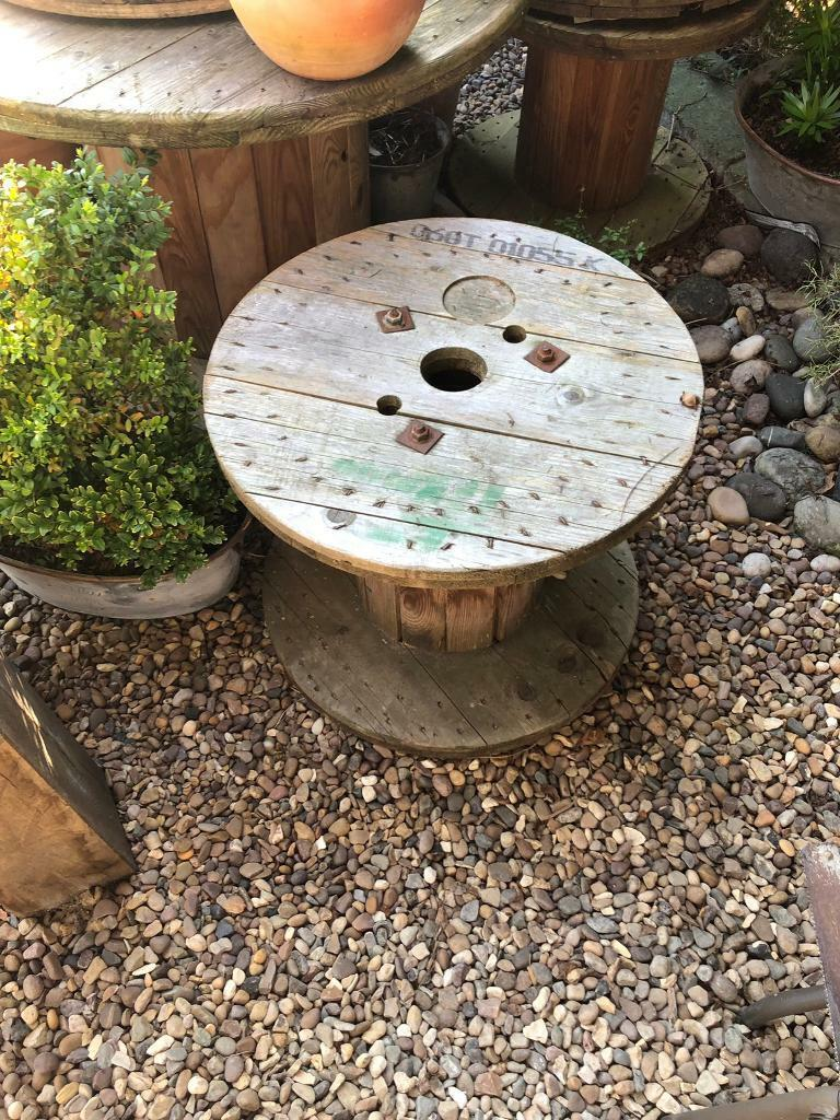Cable Reel Amp Table Amp 4 Chairs Garden In Hull East