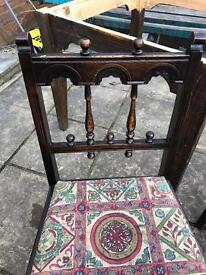 Oak ercol chairs Vintage!