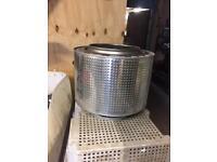 BBQ washing machine drum