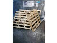 Pallets small and large ones