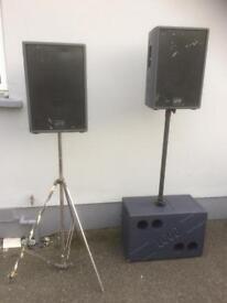 Loud Inc. Passive PA System