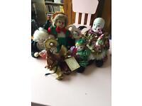 Porcelain clown bundle