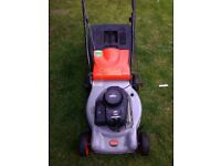 Petrol lawnmower reduced to £65