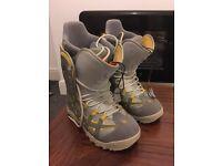 Burton UK 11.5 snowboarding boots