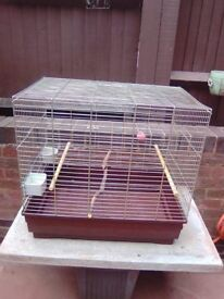 TWO BIRD CAGES SPECIAL OFFER GOOD CONDITION