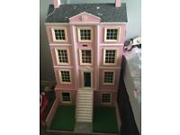 Large Pre-owned dolls House