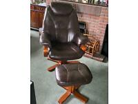 Comfortable padded chair