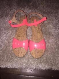 Zara Summer sandals. Size 5. Worn once £5