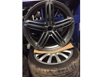 Audi Q5 5 Segment Alloy Wheel 20""