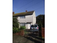 Swap a 2 bed semi detached house for 2 bed house in fleetwood town centre