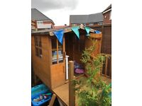 Kids Wooden playhouse great condition