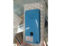 I PHONE 5 C 16GB ON EE GOOD CONDITION BLUE