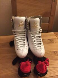 Immaculate Jackson Figure Skates
