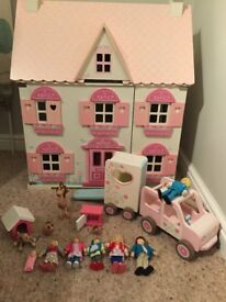 ELC wooded dolls house