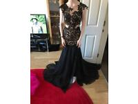 Mac Duggal Designer dress size 2 U.K. 6 Black